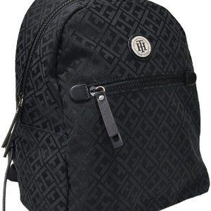 Tommy Hilfiger Women Jacquard Backpack NEW